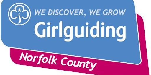 Girlguiding Norfolk County Training Day 2019