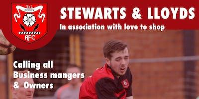 FREE Networking - Stewarts & Lloyds Football Club