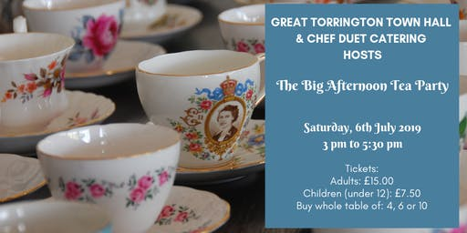 The Big Afternoon Tea Party