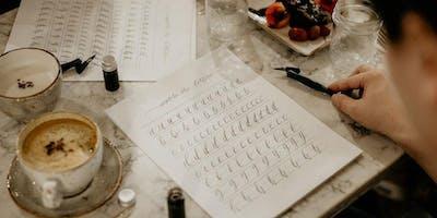 The Basics of Modern Calligraphy by INSPIRE.YEG X @jarsofclaycalligraphy Apr 27