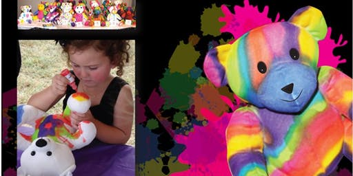 Teddy Bear Workshop-Tie Dye Teddy Bears