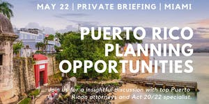 Puerto Rico Planning Opportunities