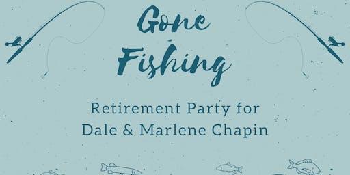 Gone Fishing - Retirement Celebration for Dale & Marlene Chapin
