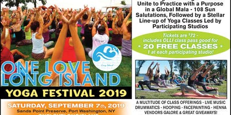One Love Long Island - 2019 Yoga Festival tickets
