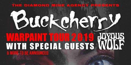 Buckcherry Live In Kingston tickets
