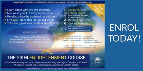 The Sikhi Enlightenment Course (East London) tickets