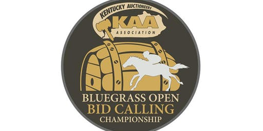 BATTLE OF THE BLUEGRASS OPEN BID CALLING CHAMPIONSHIP