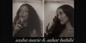 SASHA MARIE + SAHAR HABIBI at 1015 FOLSOM