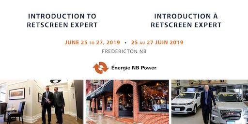Introduction to RETScreen Expert / Introduction à RETScreen Expert