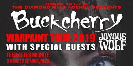 Buckcherry Live In Ottawa tickets