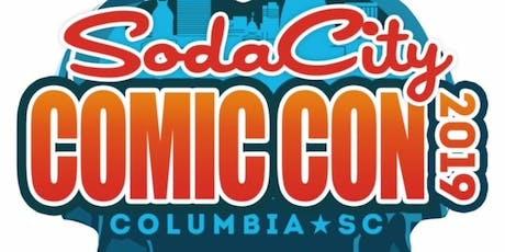 Soda City Comic Convention 2019 tickets
