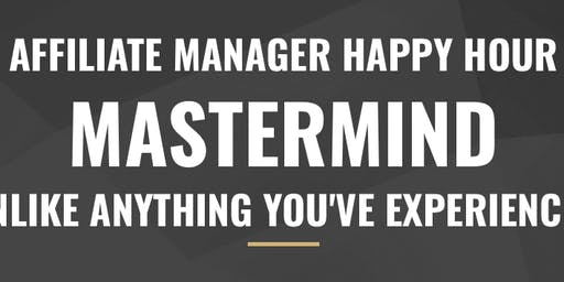 Affiliate Manager Mastermind Fall 2019