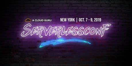 Serverlessconf NYC '19 tickets
