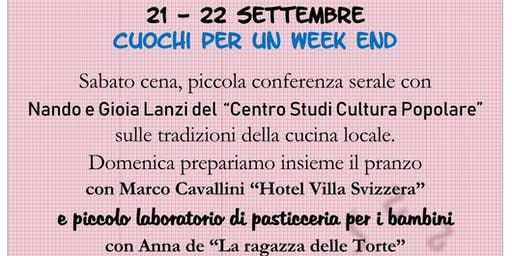 Cuochi per un Week end