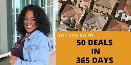 50 Deals in 365 Days by Coach Ella tickets