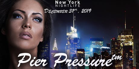 Pier Pressure New York New Year's Eve Fireworks Cruise 2020 tickets