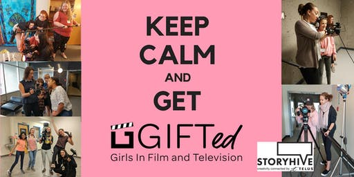 Girls In Film & Television, 5 Day Short Film-Making Workshop - Red Deer