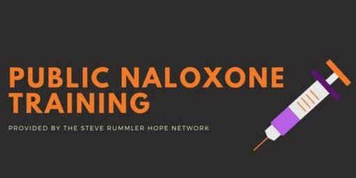 Public Naloxone Training by The Steve Rummler Hope Network