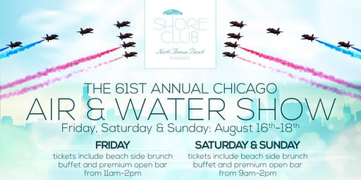 Air & Water Show Saturday 8/17