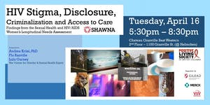 Community Forum: The SHAWNA Project Findings
