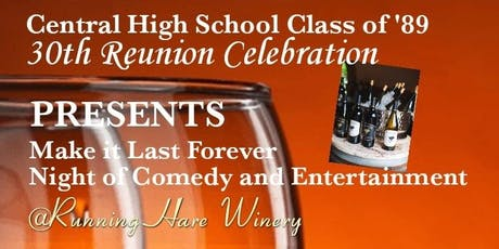 Central High School Class of '89 Reunion Celebration tickets