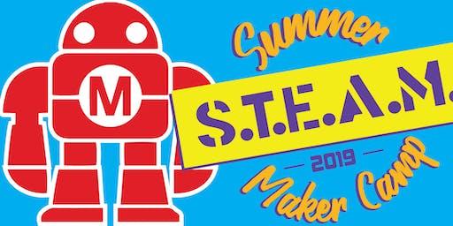 Summer S.T.E.A.M. Maker Camp 2019