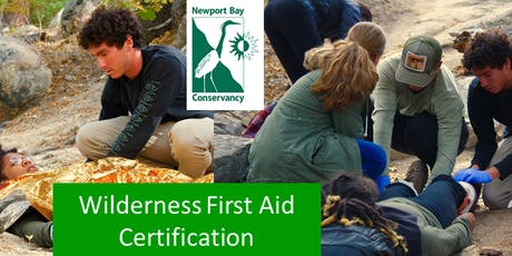 Wilderness First Aid Certification tickets