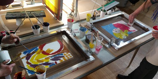 Experimental Screenprinting workshop