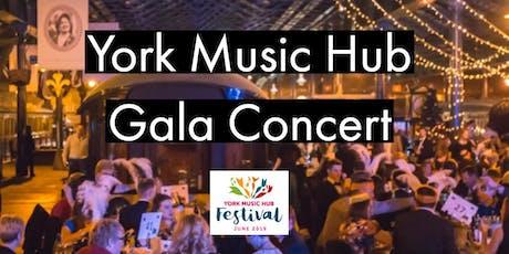 York Music Hub Gala Concert tickets