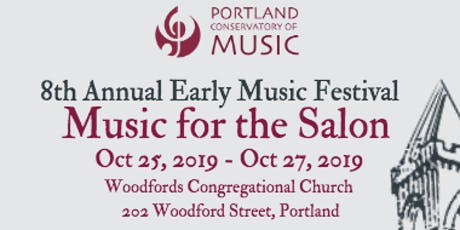 8th Annual Early Music Festival tickets