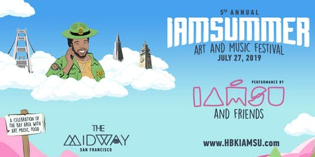 Iamsummer Art and Music Festival tickets