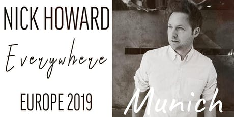 Nick Howard | Live in Munich Tickets