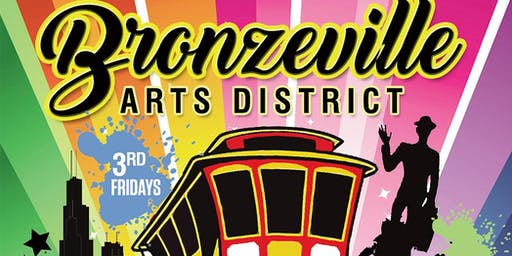 Bronzeville Art District 3rd Friday Trolley Tour June to September, 2019