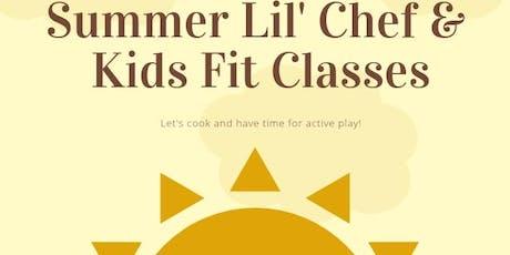 Williamsburg Hy-Vee Lil' Chefs & Kids Fit Summer Classes: Hawaiian Luau tickets