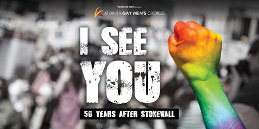 AGMC - I See You: 50 Years After Stonewall - 3 PM
