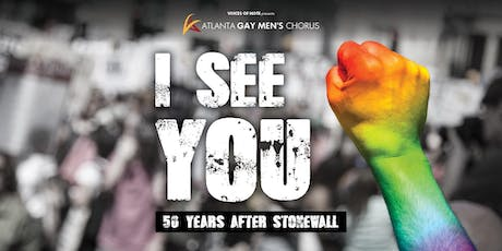 AGMC - I See You: 50 Years After Stonewall - 8 pm tickets