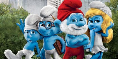 The Smurfs at Stanwick Lakes