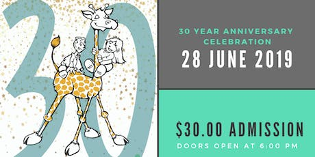 Giraffe Laugh 30th Anniversary Celebration tickets