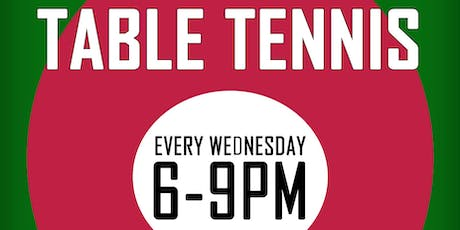 Weekly Table Tennis tickets