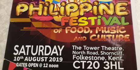 Philippine Festival Of Food Music & Culture billets