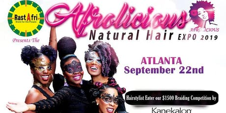 Afrolicious Hair Expo Atlanta 2019 tickets