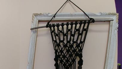Macrame Wall Hanger for a plant tickets