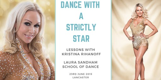 Dance with a Strictly Star - Adult Classes