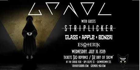Grendel w/guests Striplicker, Glass Apple Bonzai, Esoterik  tickets
