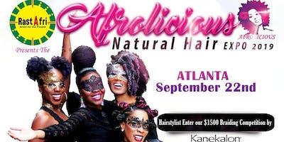 Afrolicious Hair Expo Vendors Atlanta