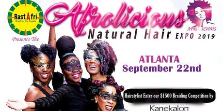 Afrolicious Hair Expo Vendors Atlanta tickets