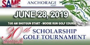 SAME Anchorage Post 30th Annual Scholarship Golf...