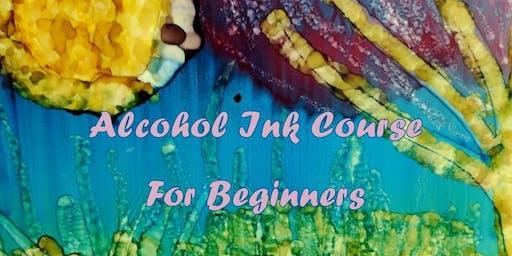Alcohol Ink Class - Level 1 (beginner)