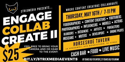 Engage//Collab//Create II: A Content Creators Event