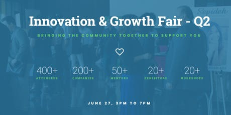Innovation & Growth Fair - Q2 tickets